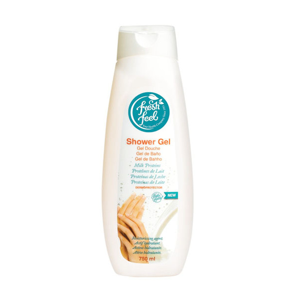 Gel Tắm Cung Cấp Protein Cho Da Fresh Feel - Giúp bảo vệ và dưỡng ẩm da hiệu quả - Chai 750ml