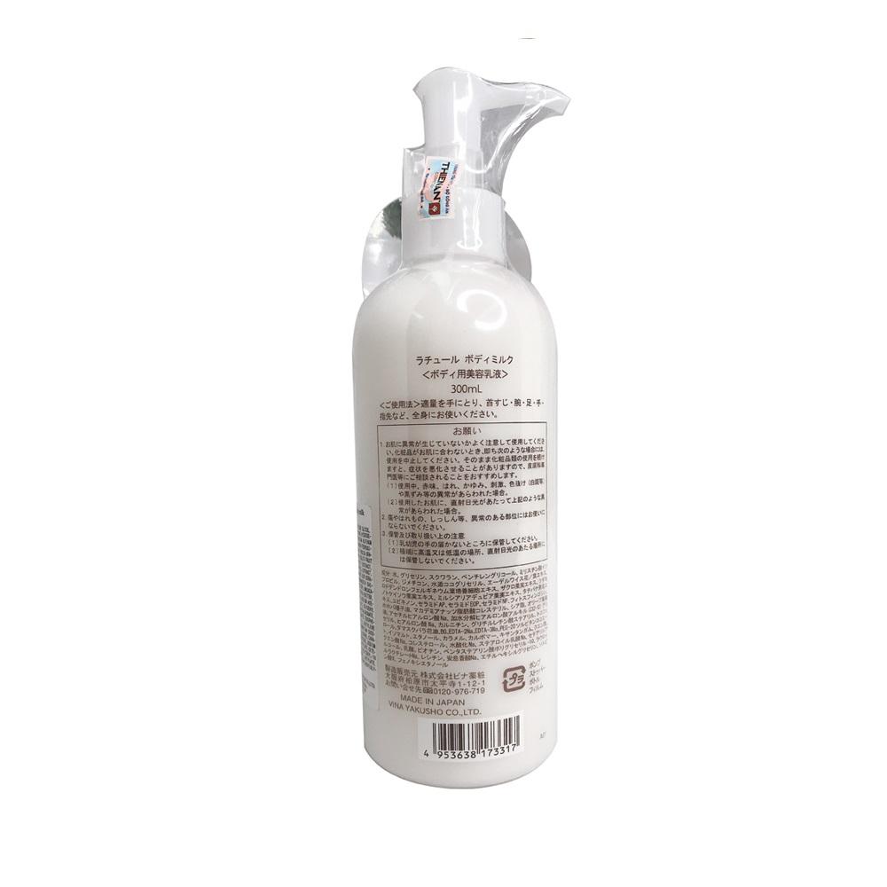 Kem dưỡng thể, dưỡng ẩm hoàn hảo Vina Rature Body Milk