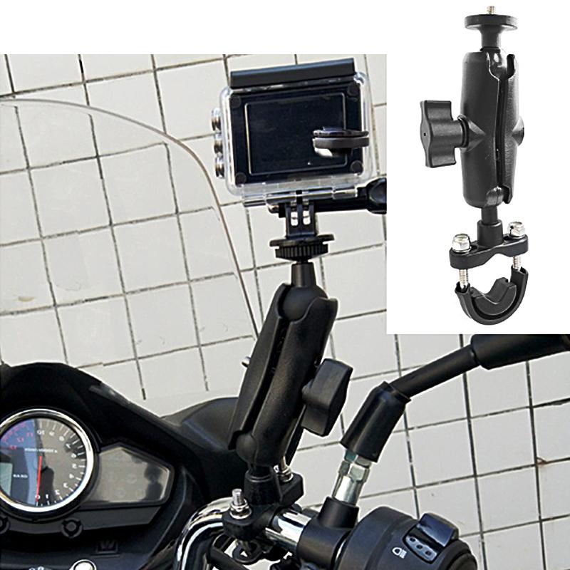 Kẹp Gopro lên ghidong xe máy