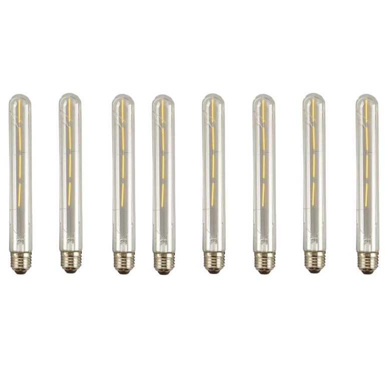 Bộ 8 bóng đèn Led  T185 4W đui E27.