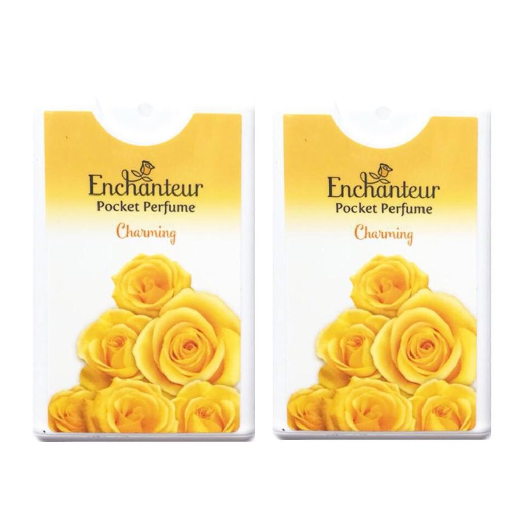 Combo 2 chai nước hoa bỏ túi Enchanteur Charming 18ml*2
