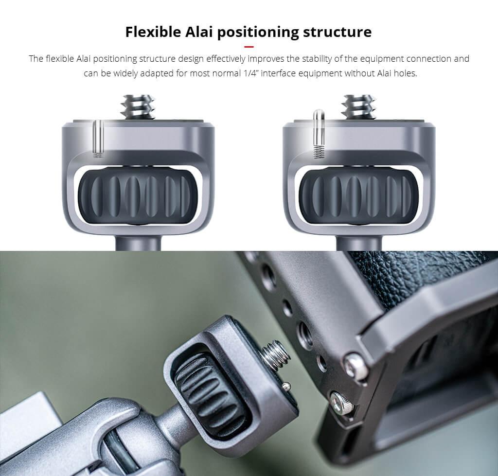 Khuỷu nối máy ảnh với các linh kiện – Magic Arm - Hàng chính hãng PGYtech