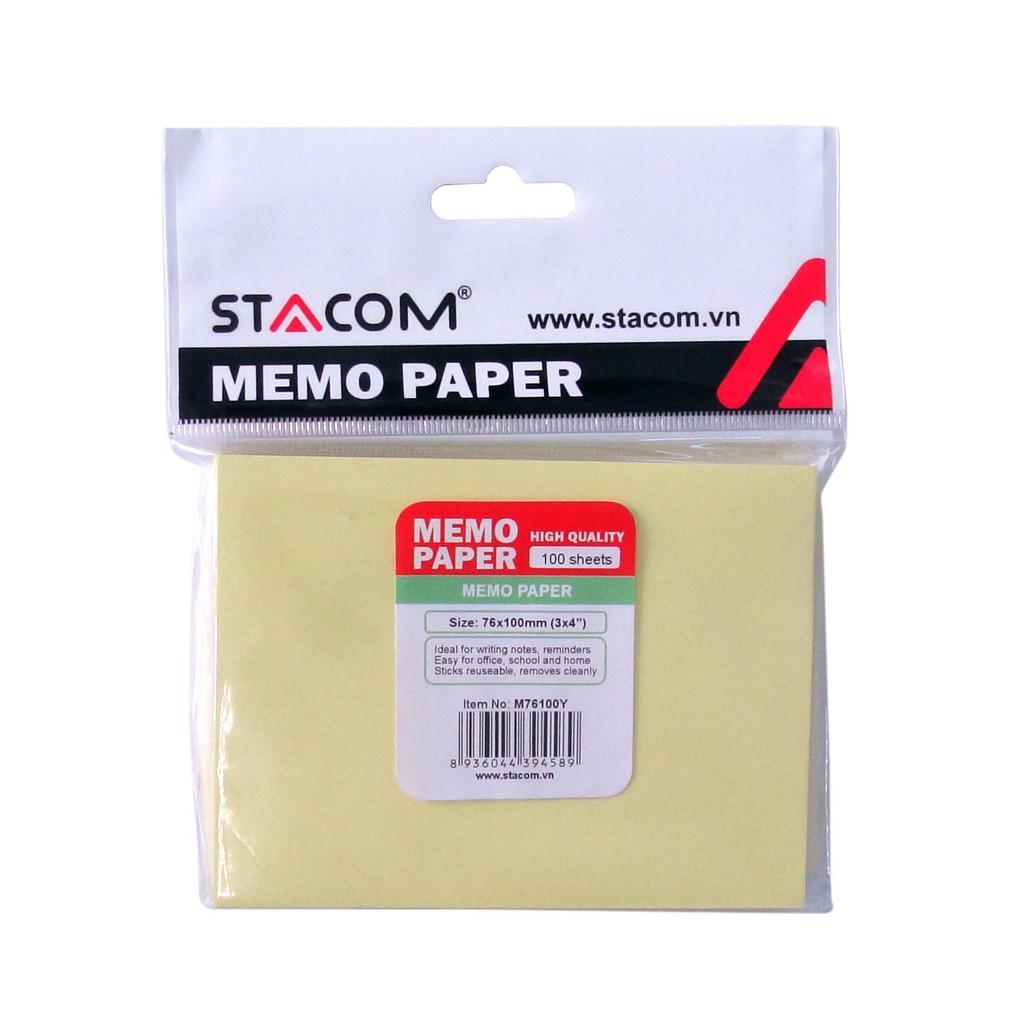 Giấy note nhiều màu STACOM - M76100
