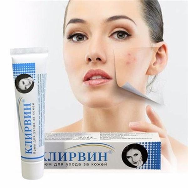 Bộ 4 tuýp kem hỗ trợ trị sẹo rạn nga Klirvin Cream Nga (25g/Tuýp)