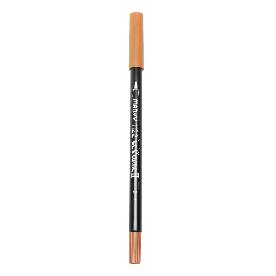 Bút Lông Hai Đầu Marvy 1122 No.16 - Pale Orange