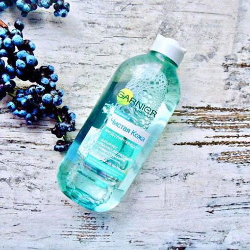 Nước tẩy trang Garnier micellar water 400ml - màu xanh