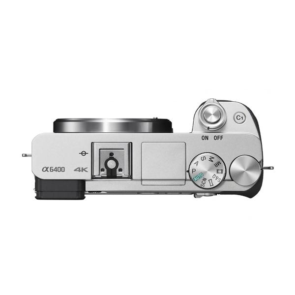 Máy Ảnh Sony Alpha A6400 Body + Lens 16-50mm (Silver) - Hàng Chính Hãng
