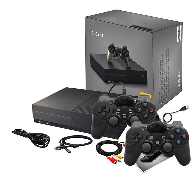 Máy chơi game điện tử tay cầm gamer kết nối tivi đa cổng HDMI và AV  800 game Hỗ trợ thẻ nhớ, lưu game