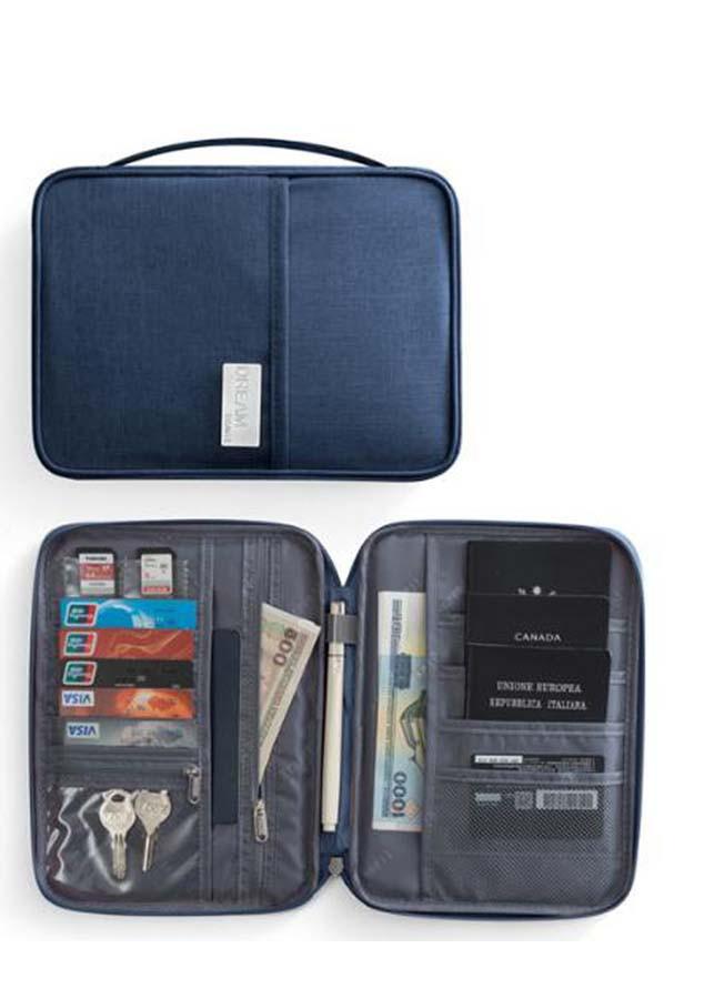 Ví Đựng Hộ Chiếu Passport LK091 Bảo Quản Thẻ Chống Thấm nước Shalla
