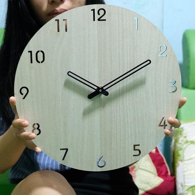 Đồng hồ Gỗ treo tường độc đáo SB028 thiết kế mới