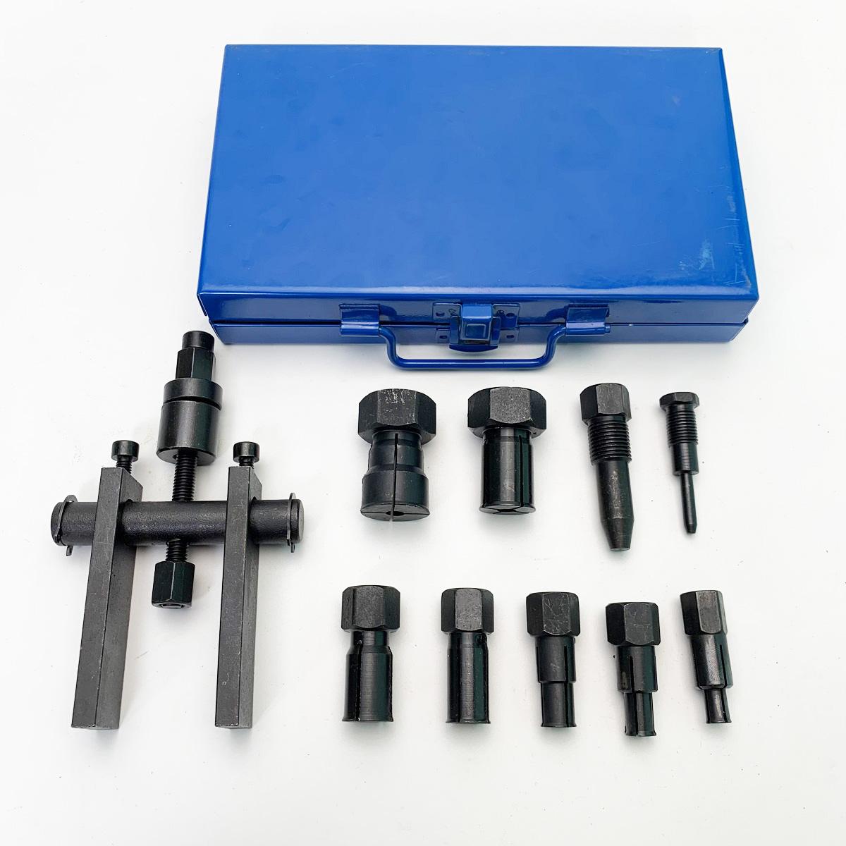 Bộ Cảo Bạc Đạn Chữ H Từ 8mm-25mm, 10 chi tiết (Cảo Chữ H, Vam Cảo Bạc Đạn)