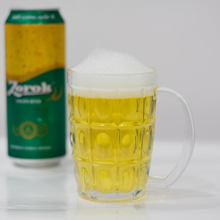 Bộ 12 Ly Thủy Tinh Có Quai 316 Uống Bia Camdaco (375ml)