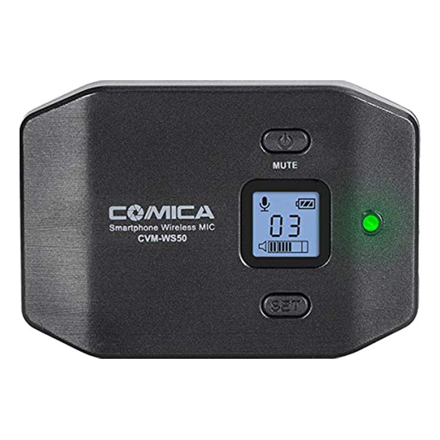 Micro Không Dây Cho Điện Thoại Comica CVM-WS50B - Hàng Chính Hãng