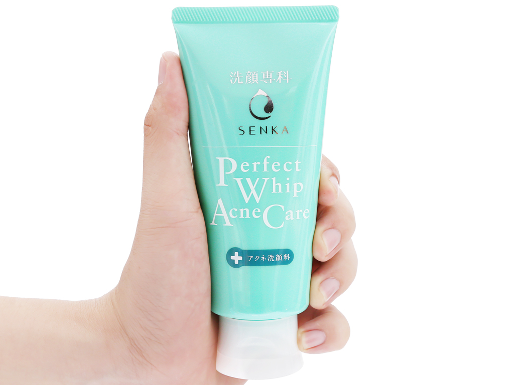 Combo Nước Tẩy Trang Senka All Clear Water Anti Shine 230ml + Sữa Rửa Mặt Senka Perfect Whip Acne Care 100g