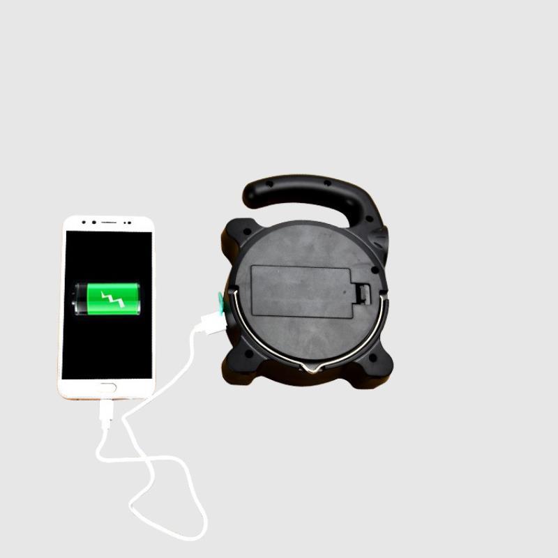 Đèn pin xách tay ZJ-3199, kết hợp sạc dự phòng đa năng, cứu hộ