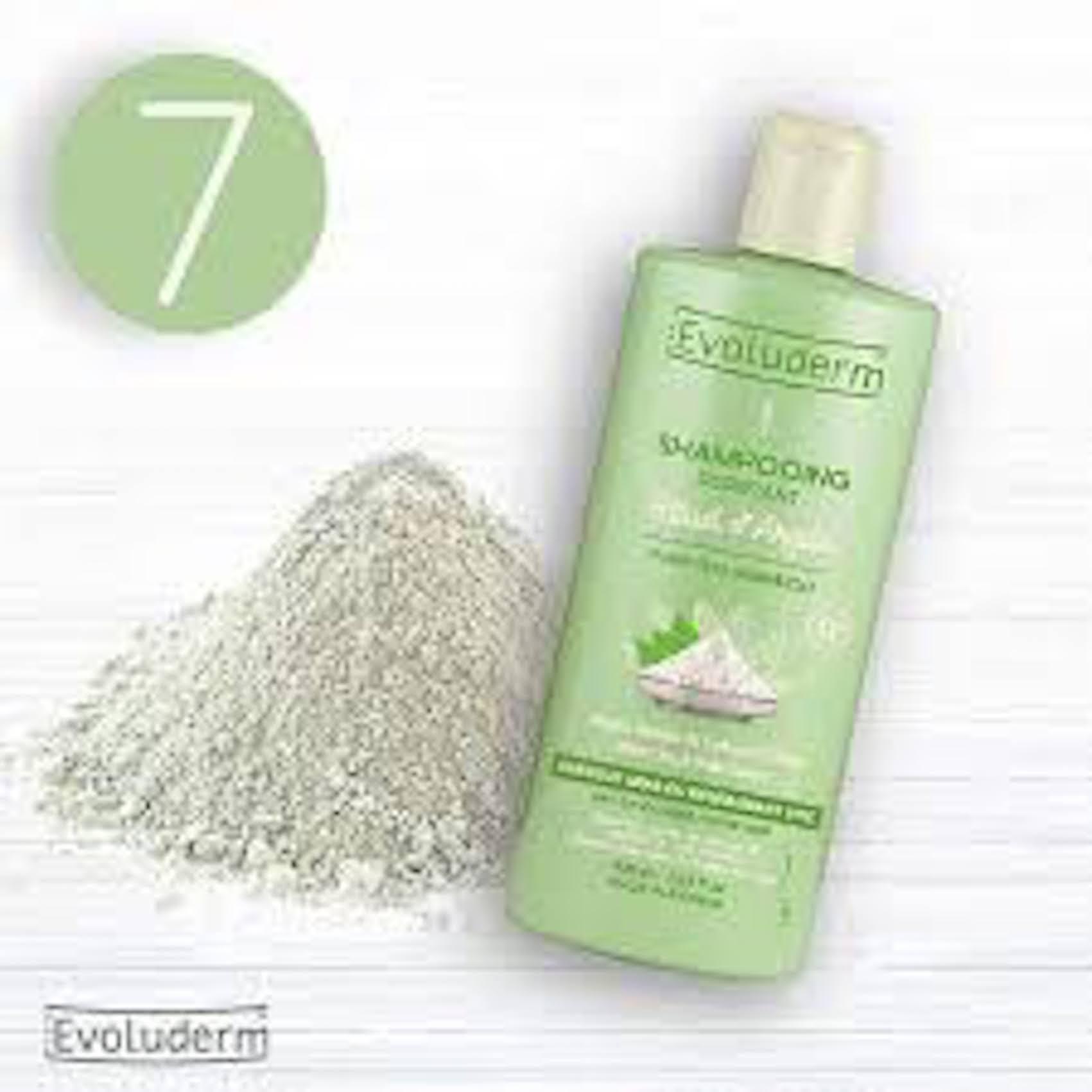 Dầu gội tinh chất đất sét dành cho tóc dầu Evoluderm 400ml - 17311