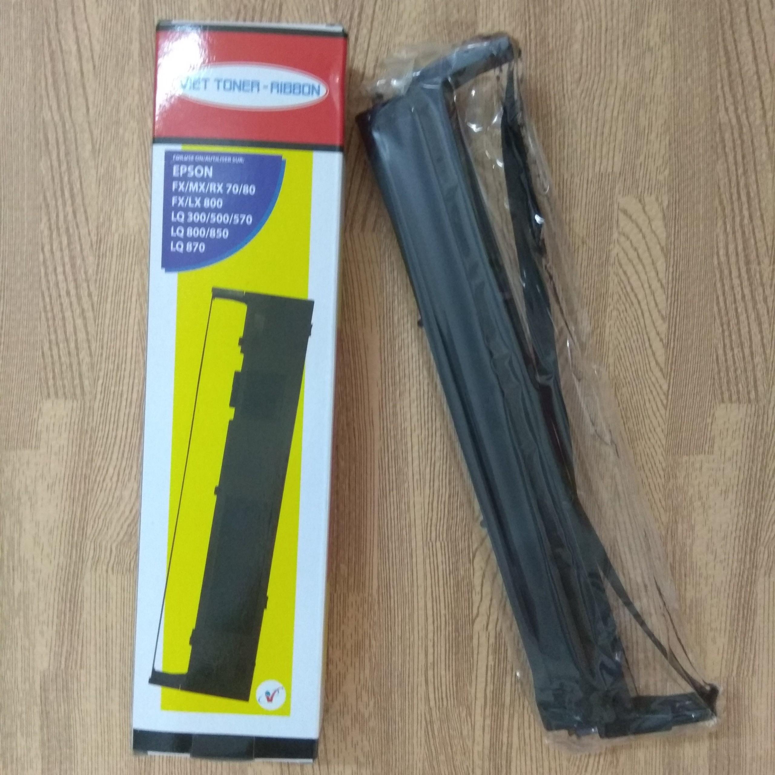 Ruy băng, ribbon mực máy in kim Epson LQ300, LQ500, LQ570, LQ800