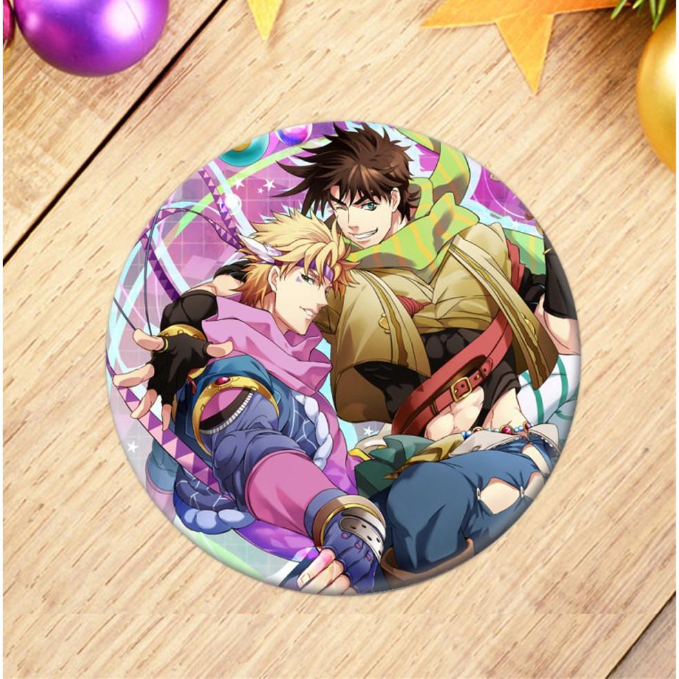 Huy hiệu Anime Jojo Bizarre Adventure Cuộc phiêu lưu bí ẩn