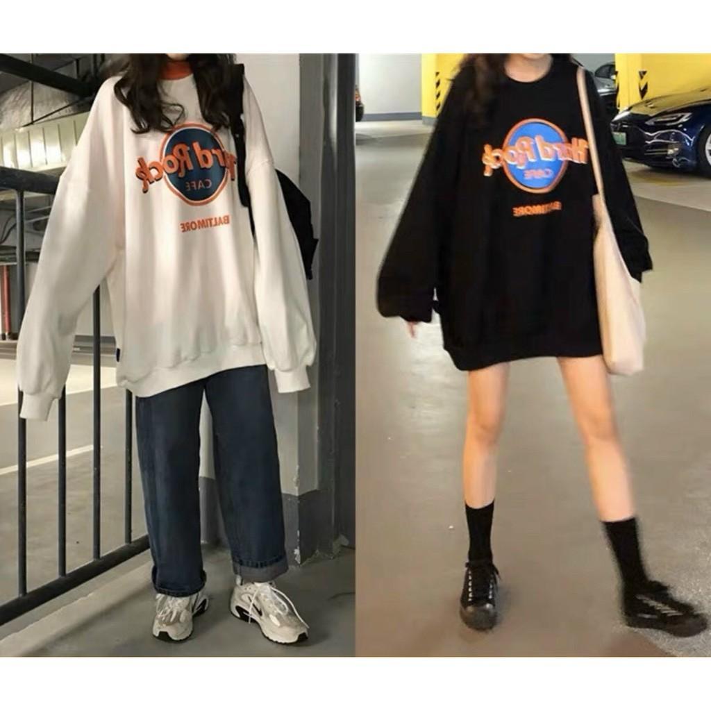 Áo phông, áo thun nam nữ form rộng tay DÀI Unisex CAFE Từ 50-70kg