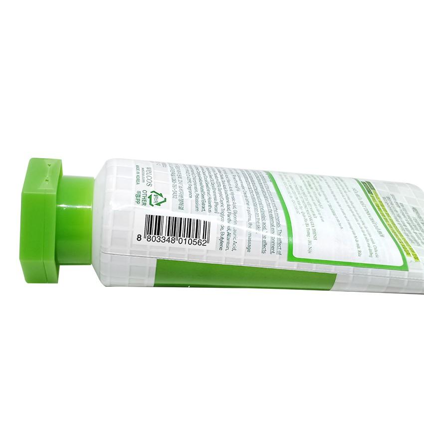 Sữa rửa mặt Lô hội Kwailnara Aloe Deep Cleansing Foam 120ml + Móc khóa