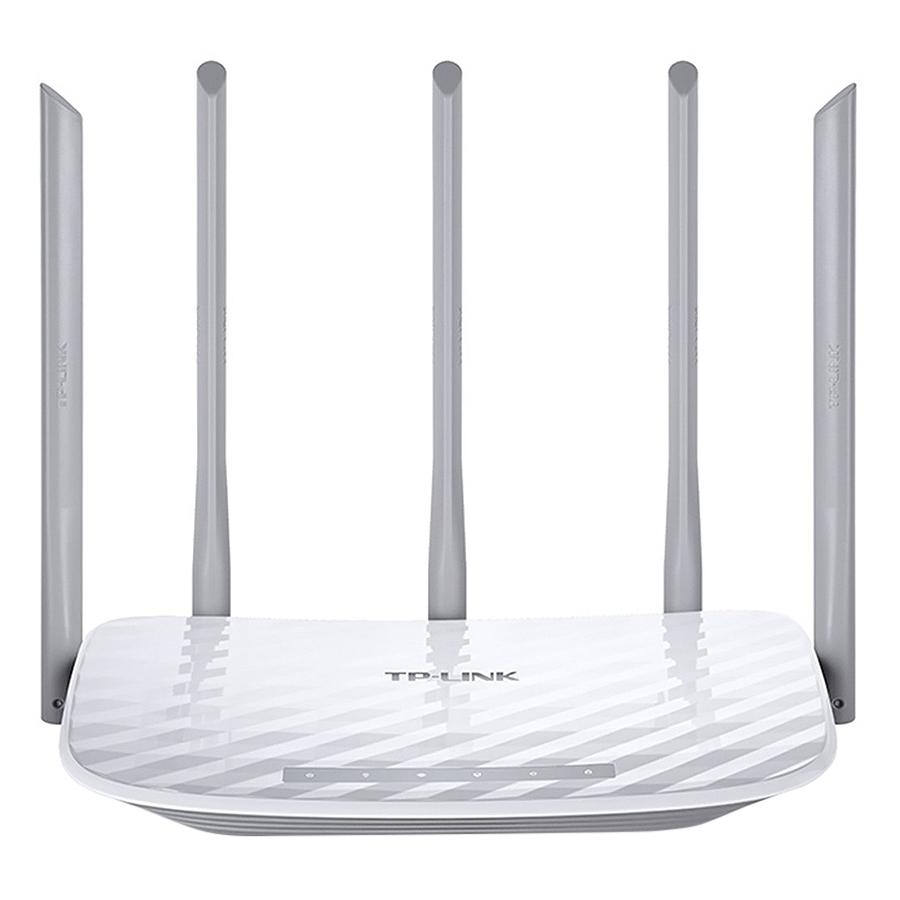 Bộ Phát Wifi TP-Link Archer C60 AC1350 - Router Wifi B/G/N/Ac 2.4ghz/5ghz Băng Tần Kép - Hàng Chính Hãng