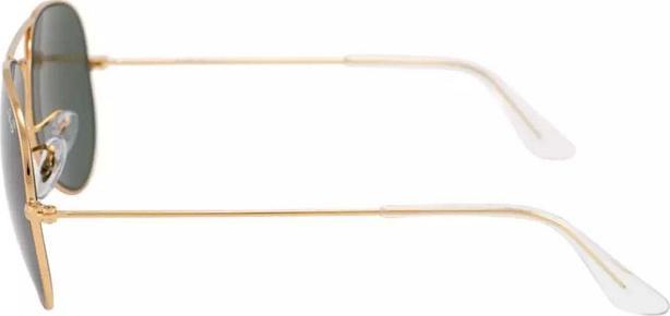 Kính mát nam nữ chống tia UV cực tốt tròng xanh đen gọn vàng mẫu SIÊU HOT KRB009