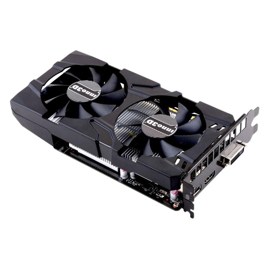 Card Màn Hình INNO3D GeForce GTX 1050 Ti Twin X2 4GB GDDR5 - Hàng Nhập Khẩu