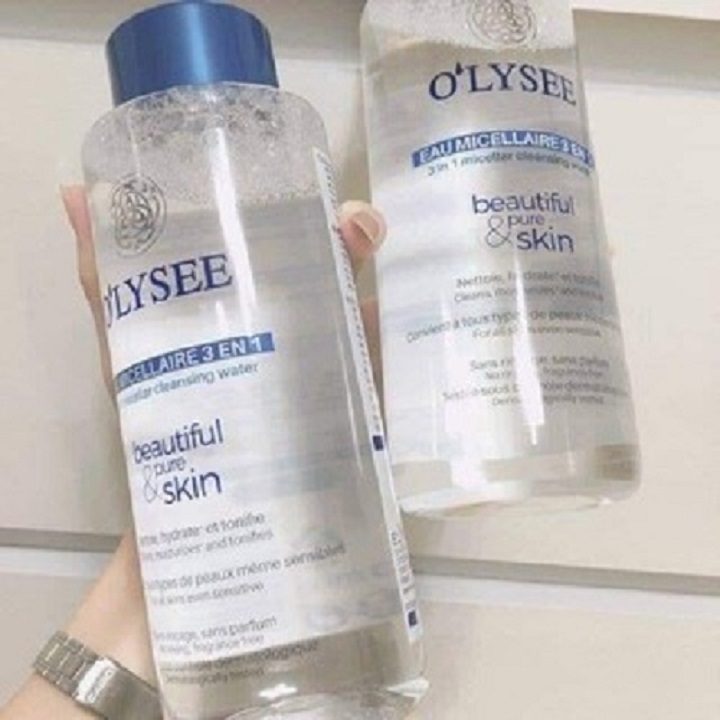 Tẩy trang O'lysee 3 in 1 micellar cleansing 500ml