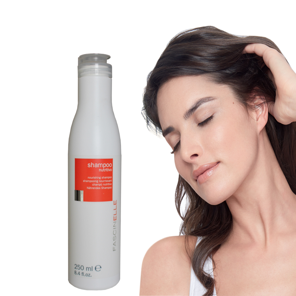 Dầu gội dưỡng tóc khô xơ hư tổn FASCINELLE NOURISHING SHAMPOO DMC006 (250ml)