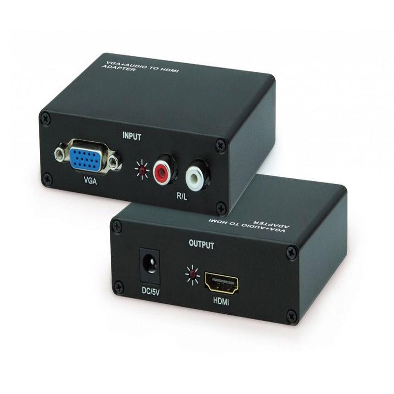 Bộ chuyển đổi VGA sang HDMI (Sắt)