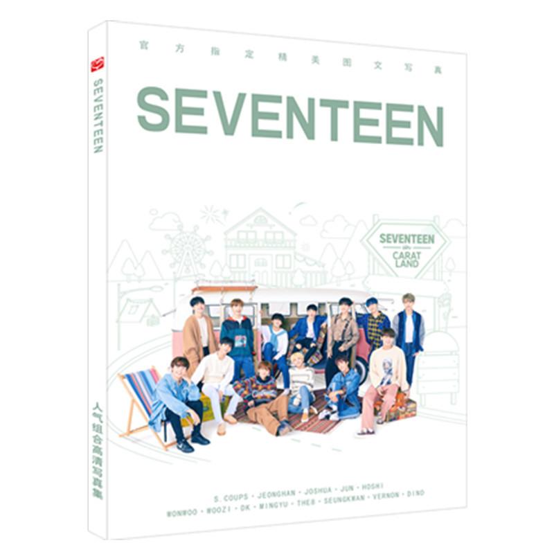 Bộ ảnh Seventeen Carat Land có poster Seventeen