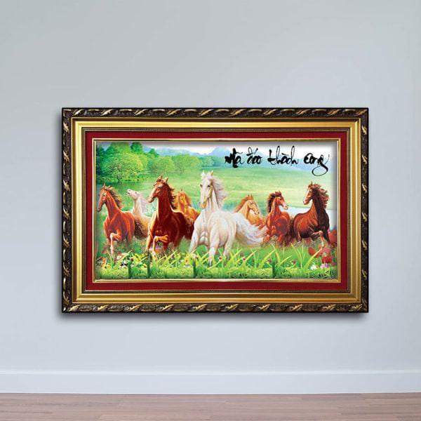 Tranh Con Ngựa: Tranh Mã Đáo Thành Công W655
