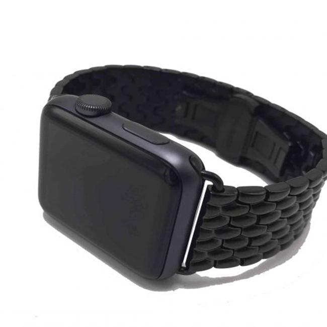 Dây thép dành cho Apple watch  ( Black )