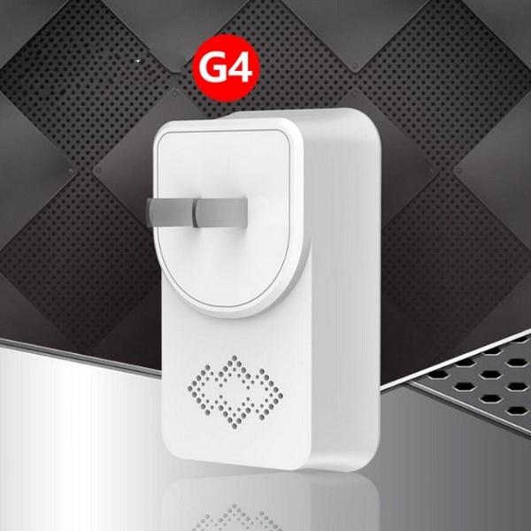 Chuông cửa không dây báo khách cao cấp không dùng pin G4 ( Tặng kèm móc khóa tô vít 3in1 )