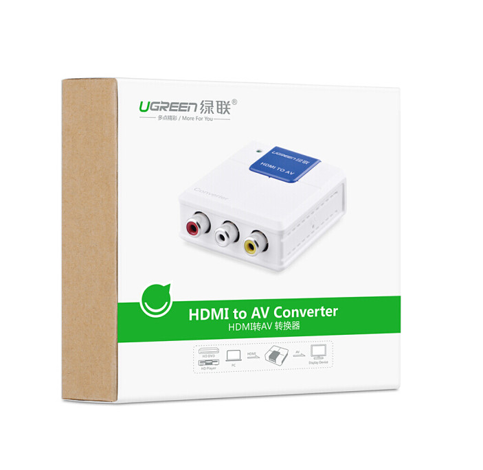 Bộ chuyển đổi HDMI to AV Ugreen40223 - Hàng Chính Hãng