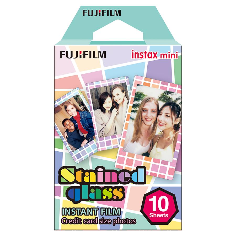 Hộp Film Fujifilm Mini 10 Tấm Stained Galls - Hàng Chính Hãng