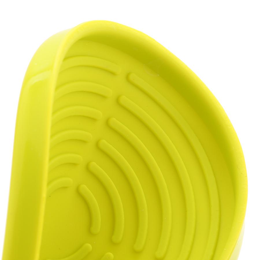 Bộ 4 Lót ly bằng cao su silicone Hestian HES502 (Giao màu ngẫu nhiên)