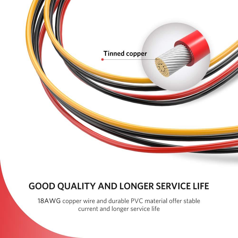 Cáp nguồn SATA 15Pin nối dài Ugreen 50718 dài 20cm chính hãng