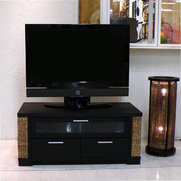 Kệ TV bằng lục bình tự nhiên