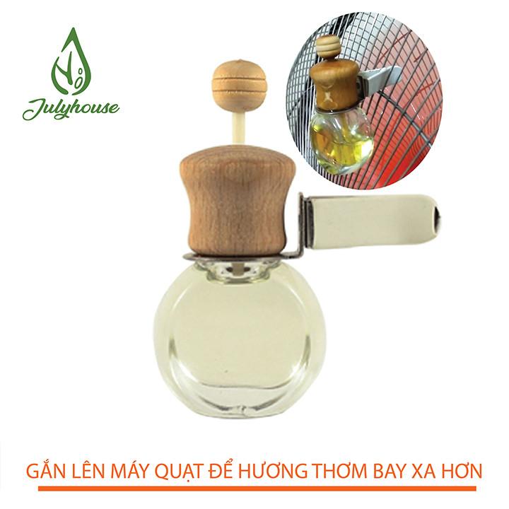 Tinh dầu Vỏ Bưởi JULYHOUSE thơm phòng 30ml + Tặng kèm Vỏ khuếch tán.