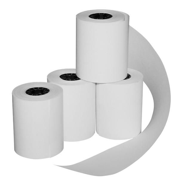 Thùng 100 cuộn giấy nhiệt in bill K80 phi 45 - Hàng nhập khẩu