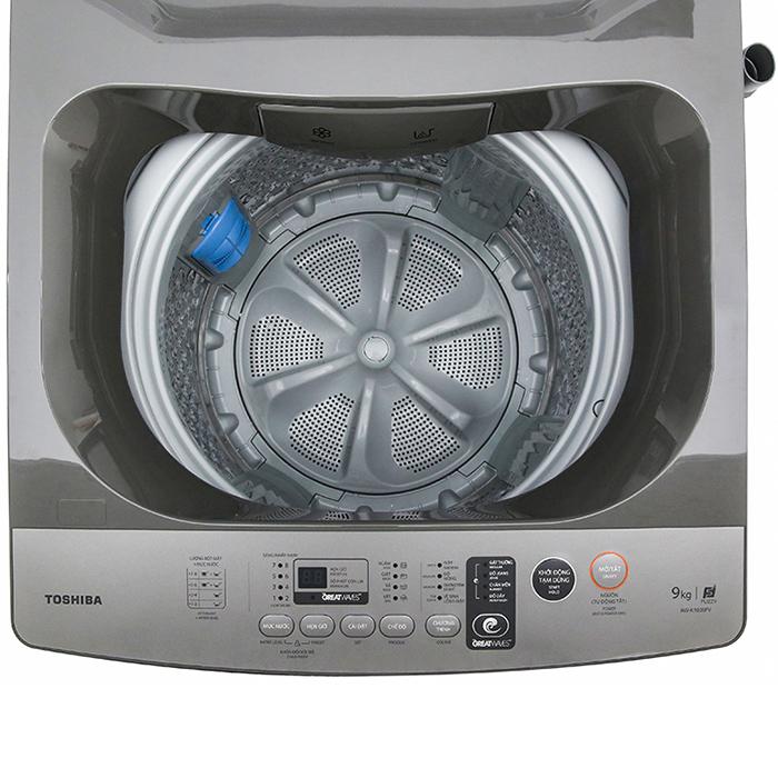 Máy Giặt Cửa Trên Toshiba AW-K1005FV-SG (9kg) - Hàng Chính Hãng - Chỉ Giao tại Hà Nội