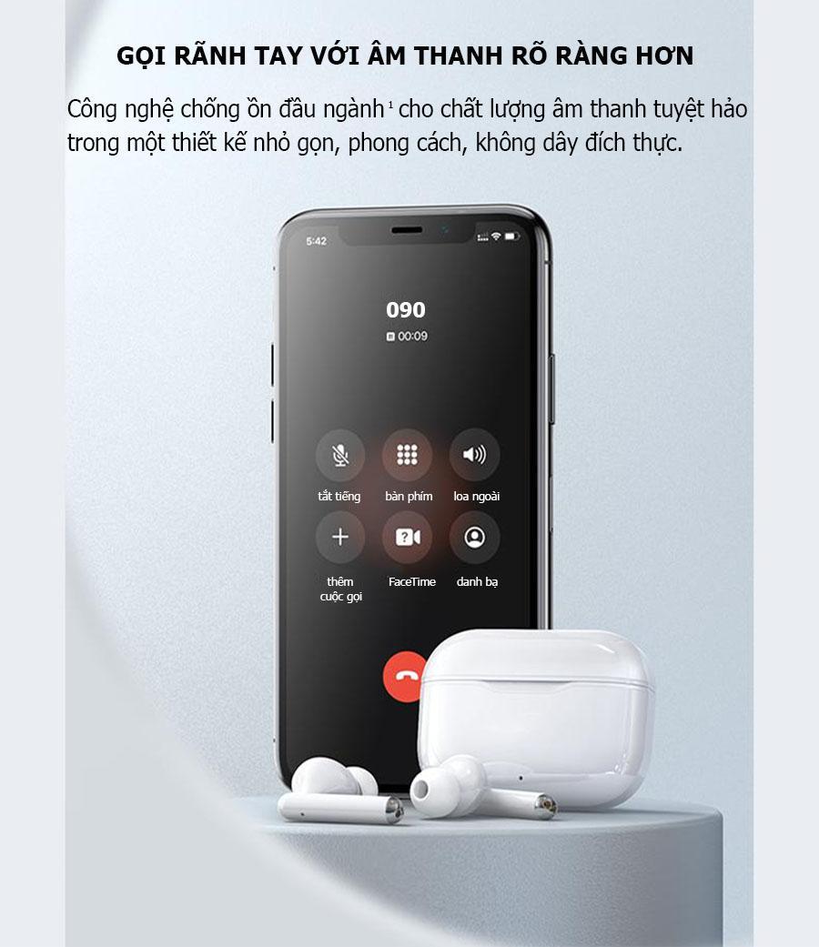 Tai nghe Bluetooth 5.0 - Thời lượng pin dài, cho thời gian nghe nhạc cả ngày