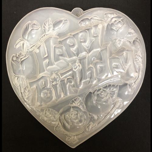 Khuôn rau câu happy birthday hoa hồng