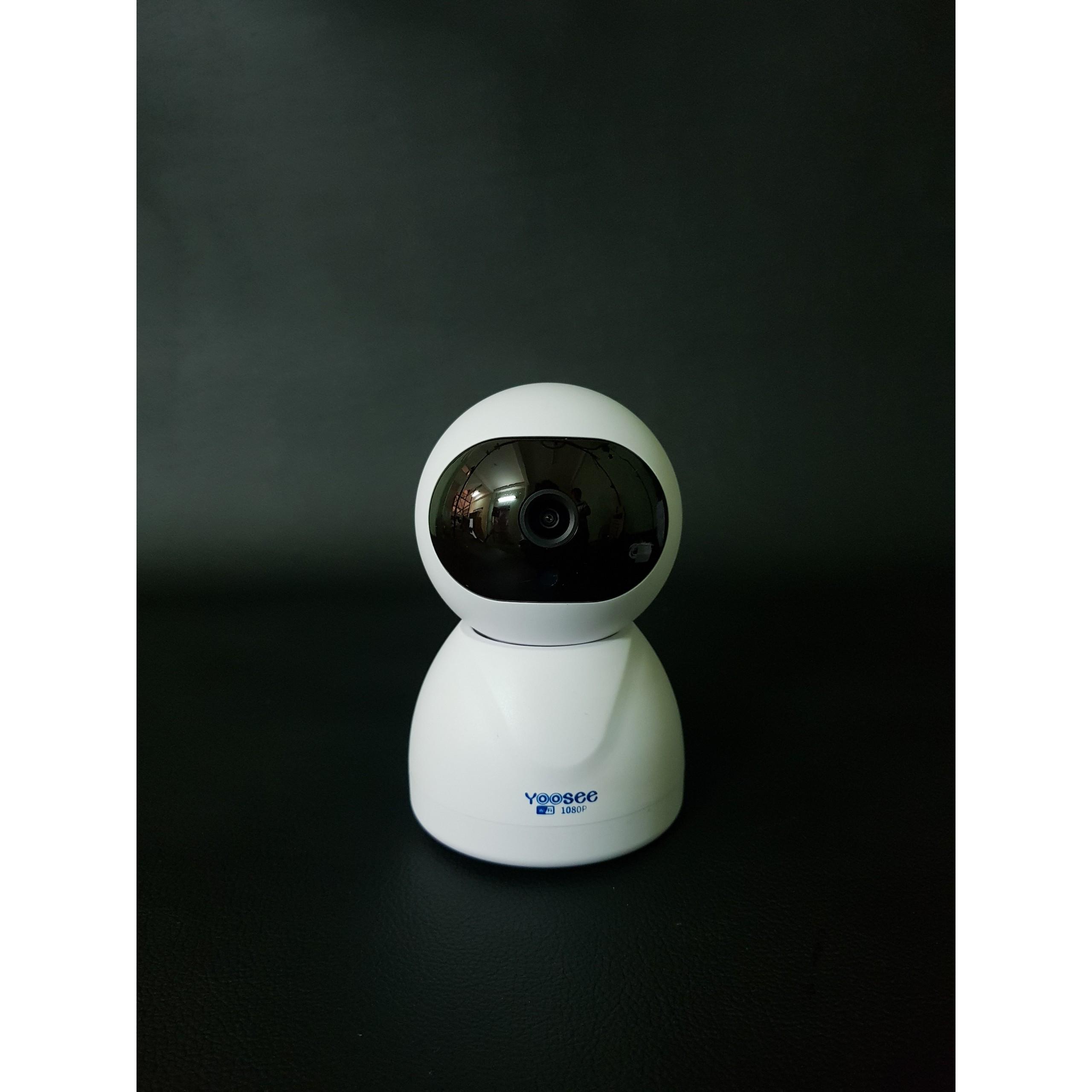 Camera IP Không Dây HWK205 FullHD 2.0 cảnh báo chuyển động tích hợp hồng ngoại dùng ứng dụng Yoosee - Hàng nhập khẩu