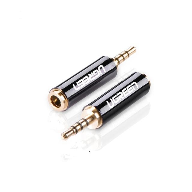Đầu Chuyển  3.5mm to 2.5mm F Adapter - Chính Hãng Ugreen