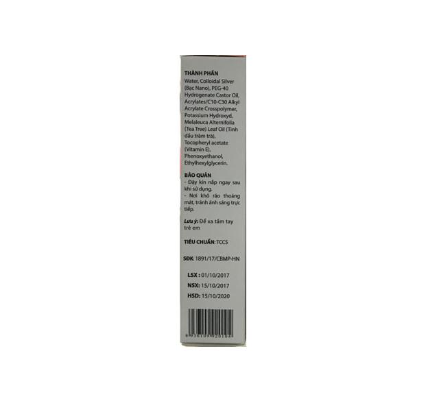 Kem NANOCOOL  tuýp 20g- Làm sạch vùng kín , khử mùi hôi , dưỡng ẩm , hạn chế sự phát triển của vi khuẩn gây viêm nhiễm nấm ngứa