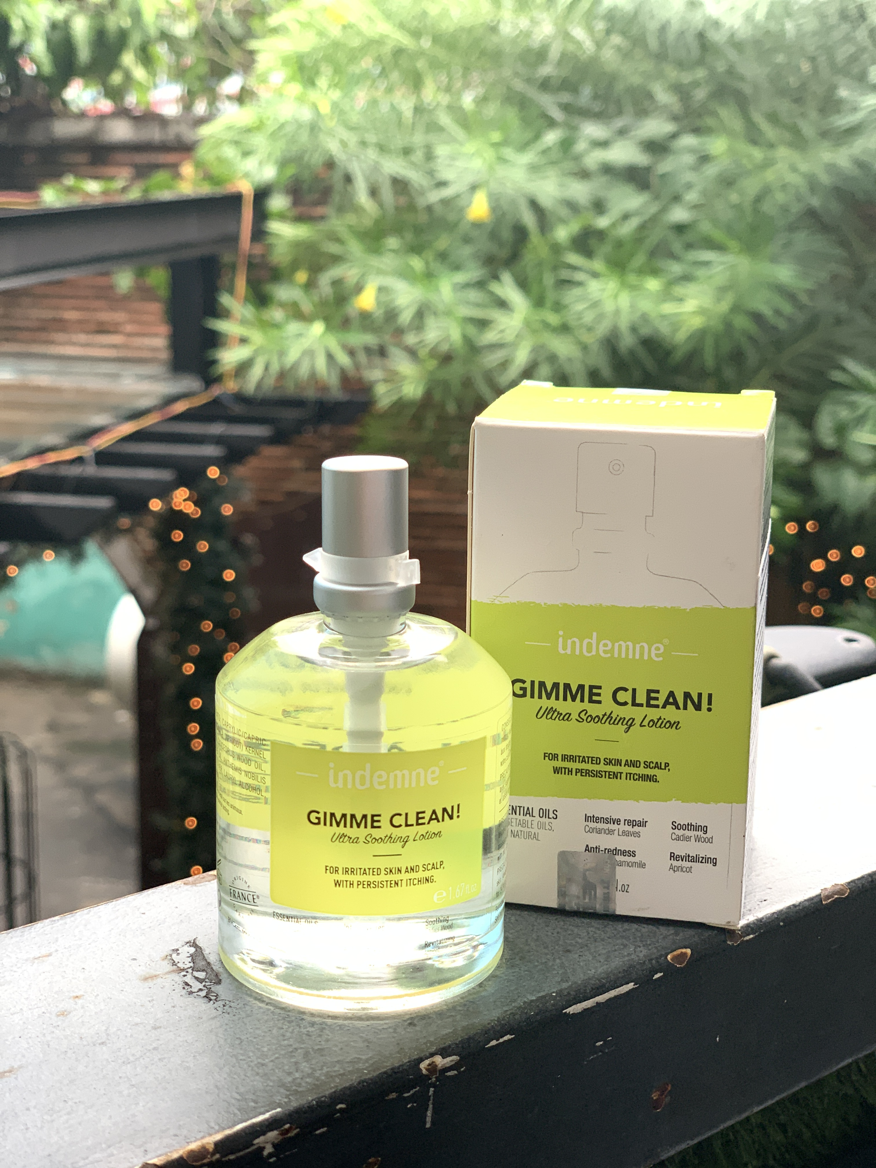 Tinh chất hỗ trợ đẩy lùi vảy nến INDEMNE - GIMME CLEAN! Ultra Soothing Lotion  - Hàng Chính Hãng  Pháp 50 ml