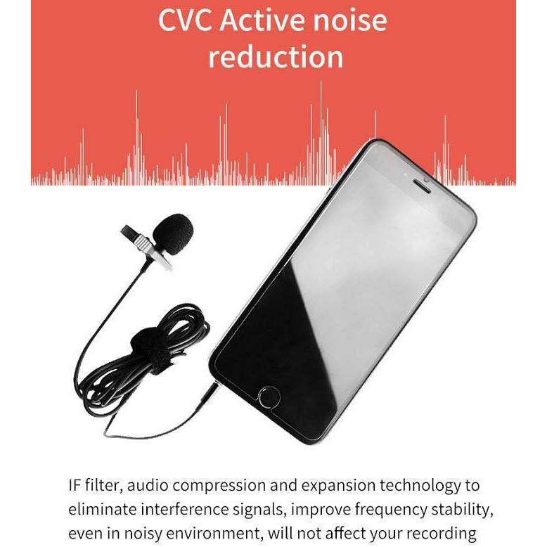 Mic thu âm cho điện thoại máy ảnh YC-LM10. Hàng chính hãng.