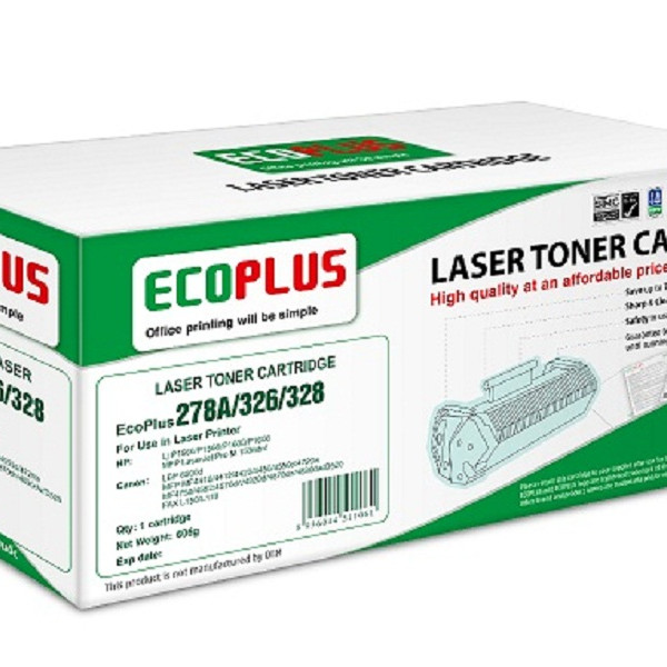 Mực in laser EcoPlus 278A/326/328 (Hàng chính hãng)